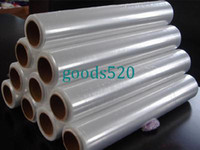 Yes pe shrink film - Food fresh shrinking film roll PE W30cm L200m T10micro OD27mm clear virginal food grade meet SGS specialty to superstore