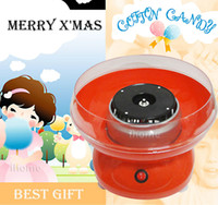 Wholesale Electric DIY Cotton Candy Floss Maker Machine Best Valentine s Day X mas Gift for Kids Girl friend Lovest taste