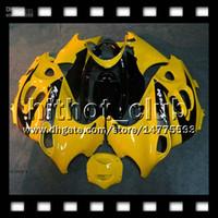 Wholesale 7gift For SUZUKI KATANA Factory yellow GSXF750 HT271 GSXF GSX750F Yellow black Fairing