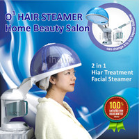 facial steamer - Ozone Salon Hair Steamer Facial Steamer for Hair Skin Care Do Aromatherapy SPA and Hair Treatment in Home Gift for her