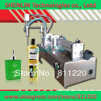 automatic bottling water filling machine - Water filling machine stainless liquids filler L beverage bottling equipment oil perfume automatic sucking and fill tool packer