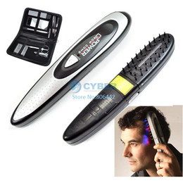 Wholesale Laser Treatment Power Grow Comb Kit Stop Hair Loss Laser Product Therapy Cure Hot