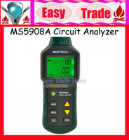 Wholesale MASTECH TRMS Voltage GFCI RCD Tester Circuit Analyzer MS5908A