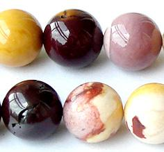 """Discount Wholesale Natural Yellow Mookaite Yolk Stone Round Loose Stone Beads 3-18mm Fit Jewelry DIY Necklaces or Bracelets 15.5"""" 0133"""
