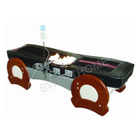 Wholesale Electric Full Body Jade Roller Thermal Wooden Massage Table