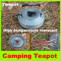 Wholesale Big Teapot Outdoor camping kettle hiking Kitchen portable Big teapot combination picnic cookware set Christmas gift L