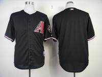 Wholesale 2014 Cheap Diamondbacks Baseball Jerseys Men s Blank Red Black no name no number White Grey Embroidery Logo Football Jerseys Mix Order