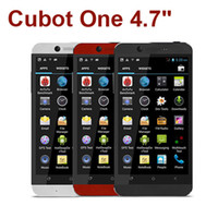 "Android 4.7 8GB CUBOT One Android 4.2 3G Smartphone 4.7"" IPS MTK6589T Cortex A7 Quad Core 1.5GHz 5MP 13MP Dual Shoot 1GB RAM+8GB ROM GPS UK Plug"