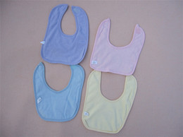 Wholesale Adorable Fabulous Durable Babies Bibs Charming Useful Babies Burp Cloths with Embroidery Patterns Hot Sale XH