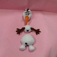 3-4 Years assembly movie - Cartoon Movie Olaf Plush Toys Assembly and have voice cm Cotton Stuffed Dolls can disassembly