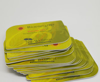 Wholesale 20pcs mm thickness Nano Health Card Energy Nano Card cc cc bio energy card