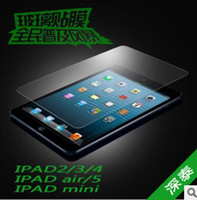 For Apple apple ipad cloth - Tempered Glass Film Explosion Proof Screen Protector for ipad Air ipad air ipad mini with cleaning cloth in retail box