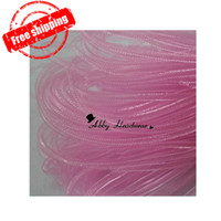 Wholesale Non Met Tubular Crin Yards of Crinoline Cyberlox Stretch Tubing for Hair Accessories mm col