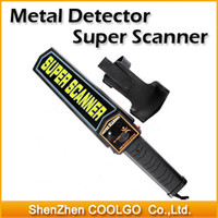 Wholesale High sensitivity Security Hand Held Scanner Metal Detector security Professional High Sensitivity
