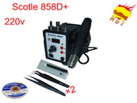 Brad Nail Gun Electricity US $65.41 / piece Scotle 858D+ Welding Machine Desoldering Station 220v 700W Include Tools Electric