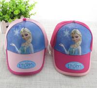 Wholesale Hot sale Frozen princess fashion cheap snapback hats high quality polo hats men s and women baseball cap cotton