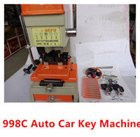 Wholesale 110V or V Multi fonction C Car Key Cutting Machine Locksmith device Brand New Automatic car key duplicate Machine Locksmith Equipment