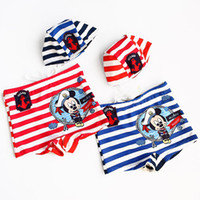 Cheap Girl Boxer Trunks Baby Best One-piece 2T-3T Stripe Cartoon Fashion