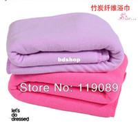 Wholesale Ultrafine micro Fibre Bath Towel Soft Adult Child Super Absorbent Thicken Towels cm
