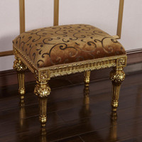 Wholesale Antique reproduction french furniture classic furniture footstool