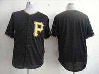 Wholesale 2014 Cheap Pirates Baseball Jerseys Men s Blank no name no number White Grey Black Embroidery Logo Football Jerseys Mix Order