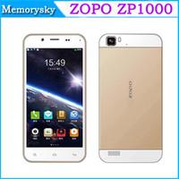 GSM850 Octa Core Android ZOPO ZP1000 MTK6592 Octa core cell phones 5.0 inch Ultrathin Smartphone IPS HD Srceen 1.7GHz CPU 1G RAM 16G ROM 14.0MP 3G 002236