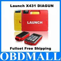 Wholesale Launch X431 Diagun II Full Set Main Unit Bluetooth DHL Diagun Diagun x Launch scan tool