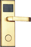 automatic deadbolt - Deadbolt Hotel Lock Open by Card With Automatic Anti False Fuction ID Card Lock for Hotel