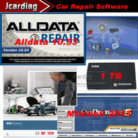 Wholesale 2014 Newest Car Repair Software Alldata GB Mitchell GB Vivid And so on in1 Software in TB HDD lowest price