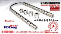 Wholesale Stainless steel nunchakus shuangjieao two sticks Self defense combat stick