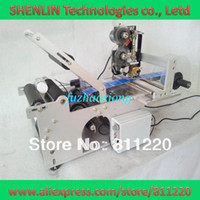 Wholesale Round Bottle Labeling machine label applicator code hot stampping tags coding printing sticking amp sticker tools equipment coder