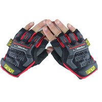 M half full - NEW MECHANIX Wear Cycling Gloves M Pact Half Full finger Glove For Outdoor Racing Hunting