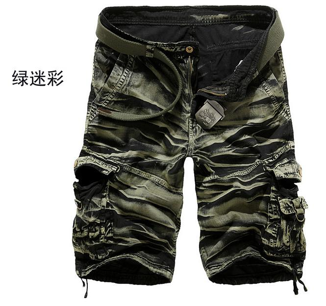 discount 2014 casual army mens camo cargo shorts new
