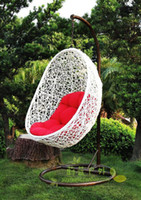 Wholesale Furniture indoor hanging chair bird nest rattan chair swing