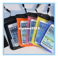 For Apple iPhone Metal Yes Universal Waterproof PVC Diving Bag Underwater Pouch Case For iphone 4 4s 5 5s For samsung galaxy s3 s4 With Armband 100% sealed