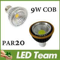 Spotlight LED 9W CE ROHS UL CSA Quality 9W COB Spotlight Lamp Bulb 600Lm 85-265V Cool White Warm White 3000K Led Ceiling Lamp Bulb Suppot Dimmable