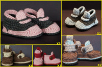 Winter Snow Boots Mid-Calf Factory direct sale! winter crochet warm boots. Baby soft bottom bootie. Hand-woven boots. Cheap toddler shoes.baby wear.8pair 16pcs