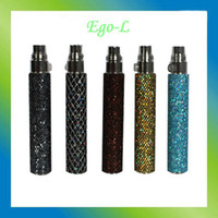 battery powder - 2014 new eGo Battery Phosphor Powder Ego L Battery Various Color E Cigarette Battery for eGo Series Electronic Cigarette