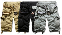 Wholesale 2014 Summer Men New Style Board Shorts High Quality Mens Cargo Shorts Casual Shorts Colors size Q0608