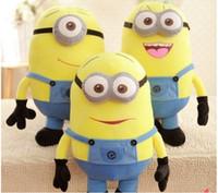 Wholesale stuffed animals children toys Despicable ME Toy Movie Plush Toys cm cm cm cm cm Minion Jorge D eyes Stewart Dave NWT with tags
