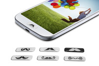 Wholesale 150pcs set set Home Button Sticker for SamSung Galaxy S4 i9500 Note N7100 set with Retail Packaging