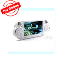 4.3 inch Yes 4GB Wholesale - Promotion!!! 4.3 Inch PMP Player 4GB 8GB Handheld Game Player With MP5 Video FM Camera TV OUT Multi-