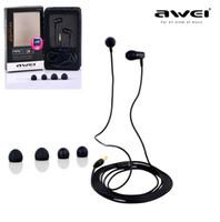 awei ES- Q7 3. 5mm in- ear Hifu Stereo earphone Headphone Black...