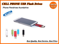 cell phone memory - Epacket X10 Smart Cell phone pendrives GB GB USB Flash Drive Thumbdrie pen drive U disk OTG external storage micro usb memory stick