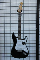 Wholesale BK Electric Guitar Black and white manufacturers selling star with quality assurance OEM acceptable