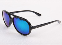 Wholesale Unisex CATS Sunglasses Flash Lenses Sunglass Box Cloth