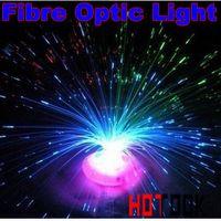 Wholesale LED Christmas lights Flower LED Fiber Optic light Night lamp licht Decorations Fibre DIY Ceiling Light kit gift x mas x