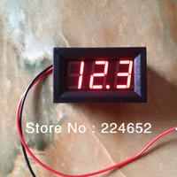 al por mayor voltímetro del coche 12v-6V / 12V Batería Dedicado 0.56