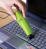 Cheap New Mini Computer Laptop LED USB Vacuum Keyboard Cleaner Dust Collector