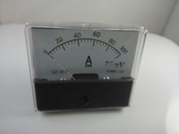 Wholesale Analog Amp Panel Meter Current Ammeter DC A